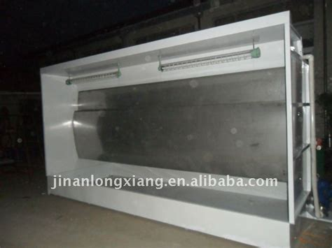 stand alone spray booth water curtain painting booth buy