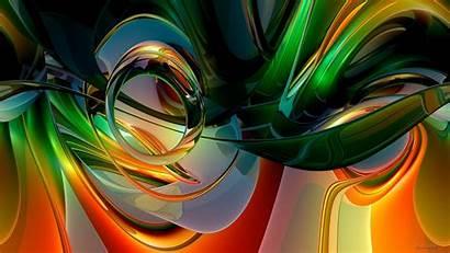 Colorful Rainbow Abstract Curves Abstractas Fondos Colorido