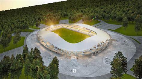 bate borisov stadion design borisov arena stadiumdb