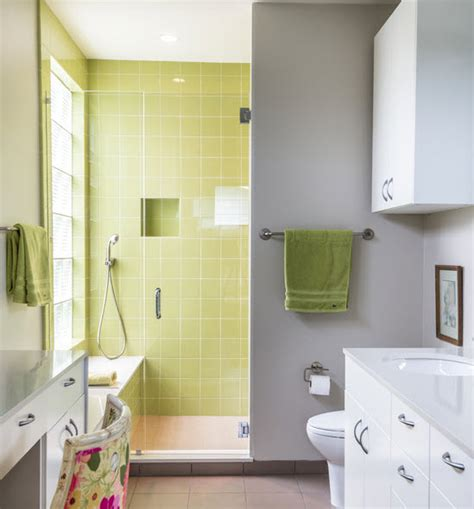 Lime Green Bathroom Tiles by 40 Lime Green Bathroom Tiles Ideas And Pictures 2019