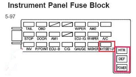 2009 Toyotum Matrix Fuse Diagram by Pontiac Vibe Questions 2007 Pontiac Vibe Where Is The
