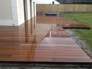 Bois Exotique Pour Terrasse : faire une terrasse en bois pas cher ~ Dailycaller-alerts.com Idées de Décoration