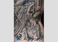 Tatouage Dos Homme Ange Printablehd