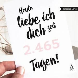 Karte Lastminute PRINTABLE PDF Jahrestag Love
