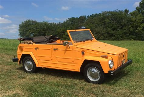 The Volkswagen Thing by 1973 Volkswagen Thing For Sale On Bat Auctions Sold For