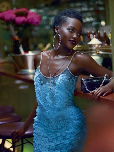 Lupita Nyong'o   Vogue Magazine October 2015 Cover and Pics