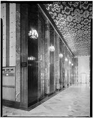 Lobby of the Richfield Building Los Angeles