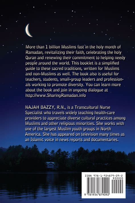 Back Cover | The Beauty of Ramadan by Najah Bazzy
