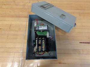 Cr206k1 General Electric Magnetic Starter Cr206 General