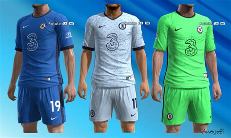 Chelsea Home And Away Kit 202021