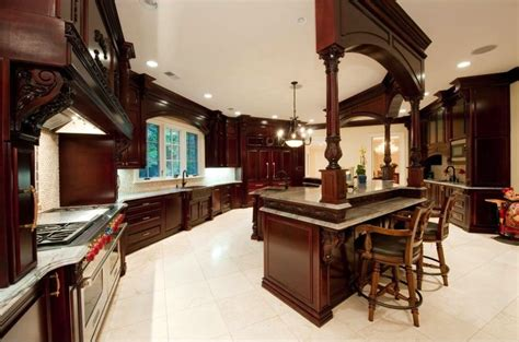 exquisite stone mansion  pricey pads