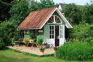 Fenster Für Gartenhaus : gartenhaus schwedischer stil ~ Whattoseeinmadrid.com Haus und Dekorationen