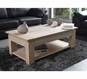 Table Chene Blanchi : table basse ch ne massif stockholm naturel 120cm 3423 ~ Teatrodelosmanantiales.com Idées de Décoration