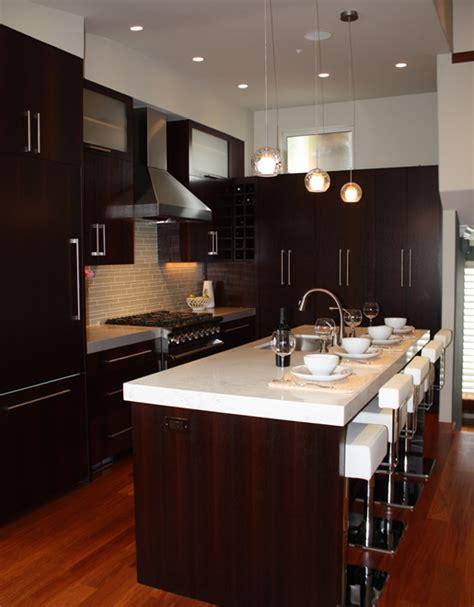 backsplash for espresso cabinets espresso kitchen cabinets contemporary kitchen