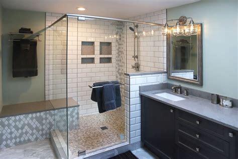 glass shower doors panels tile lines
