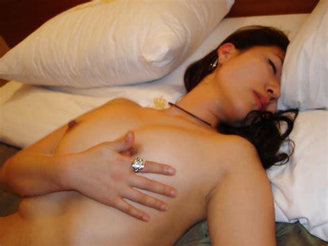 Korean Prostitute Entertaining A Client At The Hotel Azera