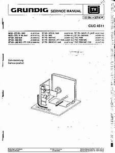 Grundig Tv Cuc4511  Service Manual  Repair Schematics