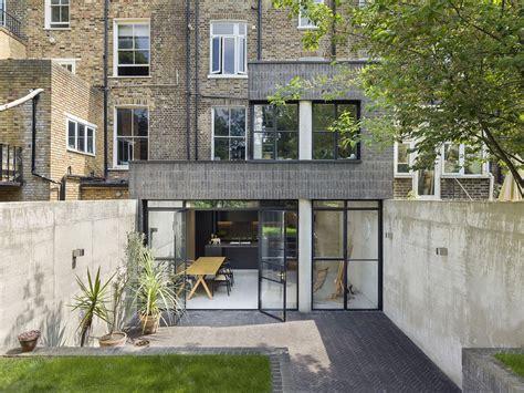 modern rear extension  victorian terraced house