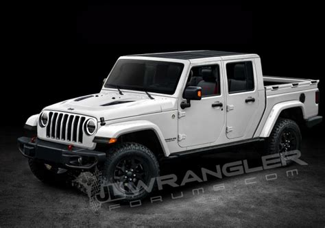 2019 jeep wrangler pickup truck is this what the new 2019 jeep wrangler pickup truck will