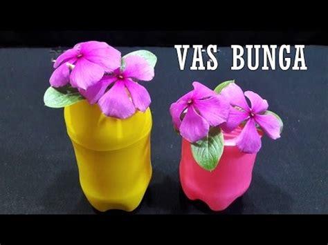 mudah membuat vas bunga cantik  balon botol