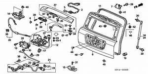 Tailgate 2004 Honda Pilot Parts Exl  Res  5 Speed