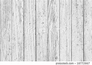 Vintage White Wood Wall - Stock Photo [18772667] - PIXTA