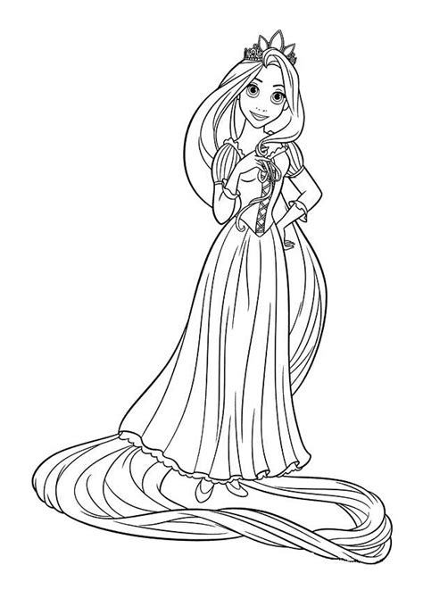 tangled pascal coloring pages getcoloringpagescom