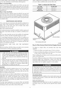 Carrier 48xp030040300 User Manual Central Package Manuals