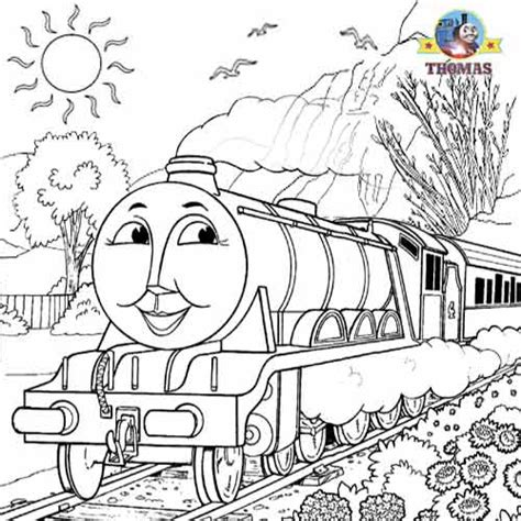 thomas coloring pages  kids arts  crafts