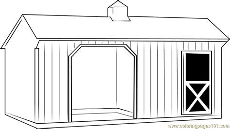 prairie barn coloring page  barn coloring pages