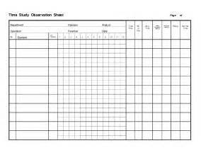 Motion Study Excel Template Study Template Cyberuse