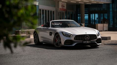 mercedes amg gt  roadster    wallpaper hd car
