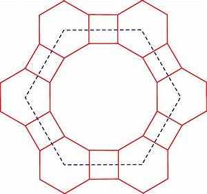 Zweiback Motel  A Geometry Puzzle  Alternating Hexagons