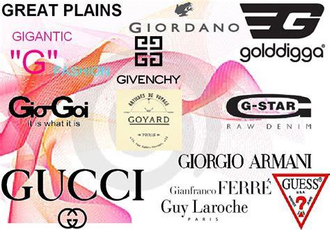 designer clothing brands fashion designer logos