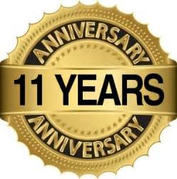 12th anniversary gift ideas 11 year anniversary special