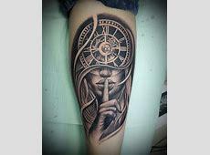 Tattoo Old School Clock Tattoo Art