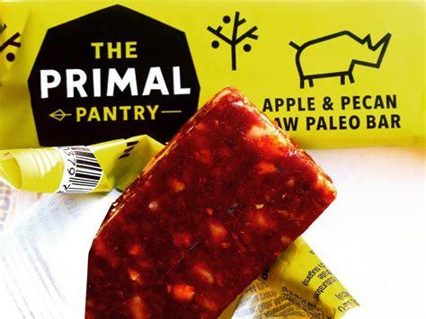 primal pantry  apple pecan raw paleo bar review