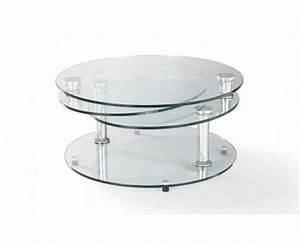 Table Basse Gigogne Verre : table basse articul e sur deco and me ~ Teatrodelosmanantiales.com Idées de Décoration