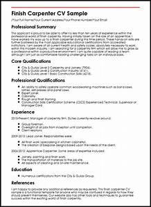 carpenter resume examples free resume ixiplay free With carpenter resume template