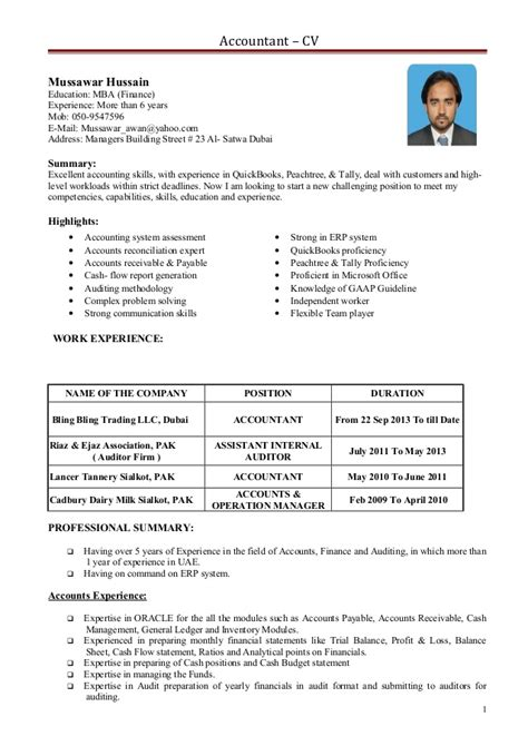 resume format mba 28 images accountant cv 1 10000 cv