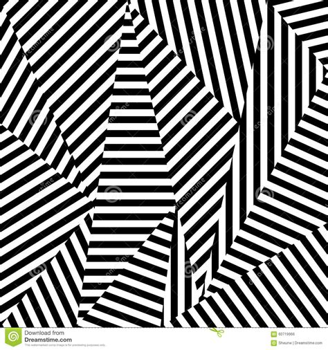 Abstract Shapes Black And White by Abstract Background Of Striped Shapes Stock Vector