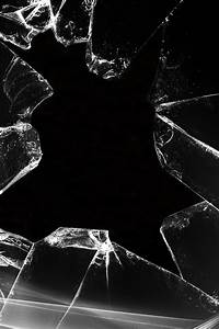 Broken Glass Screen iPhone Wallpaper