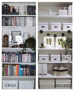 Regal Dekorativ Einrichten : die besten 25 billy regal ideen auf pinterest billy regal ikea billy regal hack und billy ~ Eleganceandgraceweddings.com Haus und Dekorationen