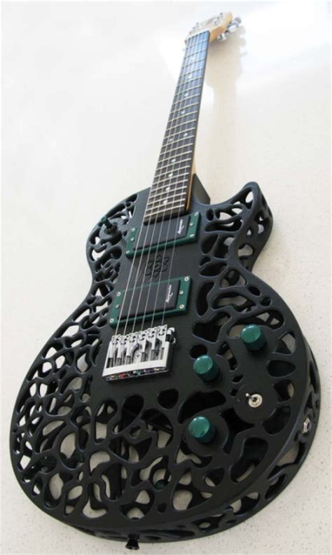 3ders org new atom 3d printed electric guitar has a more metallic sound 3d printing news 3ders org new atom 3d printed electric guitar has a more metallic sound 3d printing news