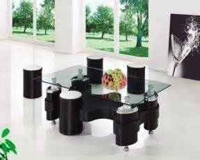 coffee table with stools underneath foter With glass coffee table with stools underneath