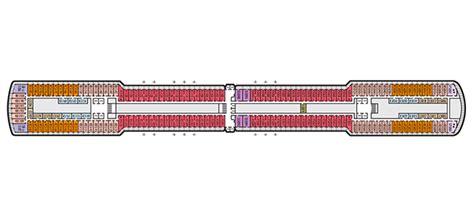 America Eurodam Deck Plan by Eurodam Deck Plan America Line