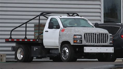 Spied 2019 Gm Mediumduty Commercial Pickup