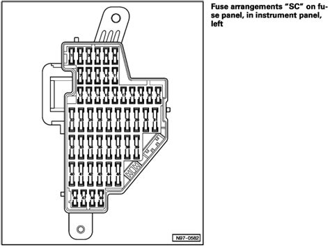 Volkswagen Jettum Gli Fuse Box by 2007 Volkswagen Jetta Fuse Box Diagram Inside And Outside