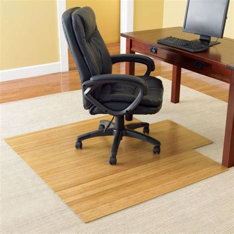 Office Chairs On Hardwood Floors by Desk Floor Mat For Carpet Advantages And Types