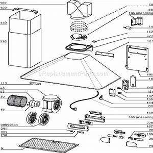 Broan Rm503604 Parts List And Diagram   Ereplacementparts Com